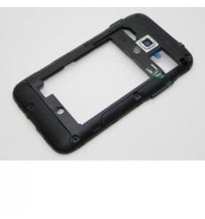 Samsung S7500 Galaxy Ace Plus carcasa trasera negro original