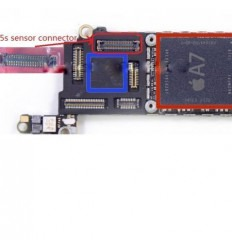 iPhone 5S connector FPC sensor