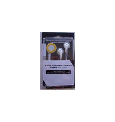 Headphones With Remote Control for psp 2000-3000