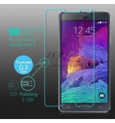 Samsung Galaxy Note 4 SM-N910F protector cristal templado