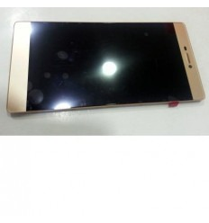 Huawei Ascend P8 original display lcd with gold touch screen