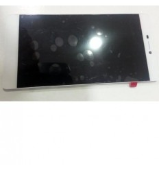 Huawei Ascend P8 pantalla lcd + táctil blanco original + mar