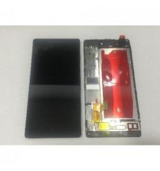 Huawei Ascend P8 pantalla lcd + táctil negro original + marc