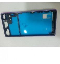 Sony xperia z3 d6603 D6643 D6653 marco lateral lila original
