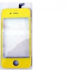 iPhone 4 4s pantalla táctil amarillo