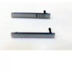 Sony Xperia Z3 Compact Mini M55W D5803 D5833 tapa plata micr