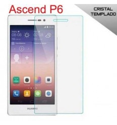 Huawei Ascend P6 protector cristal templado