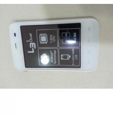 LG E435 Optimus L3 Dual pantalla lcd + táctil blanco + marco