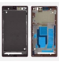 Sony Xperia Z L36H C6602 C6603 carcasa central lila