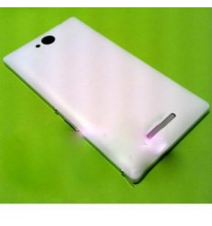 Sony Xperia C S39H tapa batería blanco