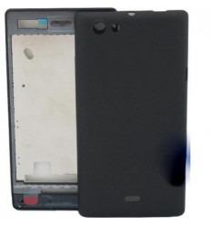Sony Ericsson Xperia Miro ST23I carcasa completa negro