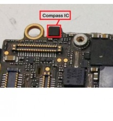 iPhone 5 5S 5C AK8963C 338s1014 14 pins ic chip Compass grav