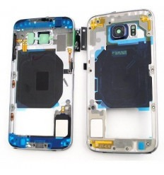 Samsung Galaxy S6 G9200 G920F carcasa central negro original