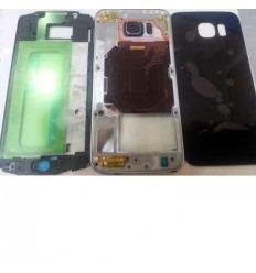 Samsung Galaxy S6 G9200 G920F carcasa completa azul oscuro o