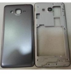Samsung Grand Prime G530 carcasa trasera gris + tapa baterí