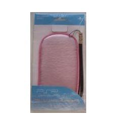 Funda acolchada rosa para PSP 2000-3000