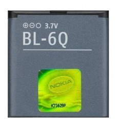 Batería original Nokia 6700c 6700c Illuvial BL-6Q Li-Ion 970