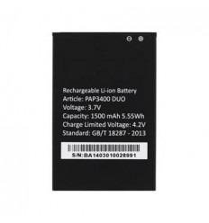Batería original Prestigio Multiphone PAP3400 DUO 1500mAh Li