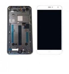 Meizu MX4 pantalla lcd + táctil blanco + marco original
