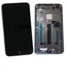Meizu MX4 pantalla lcd + táctil negro + marco original