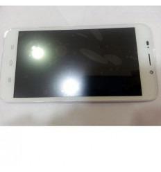 ZTE Quartz Z797C pantalla lcd + táctil blanco + marco origin