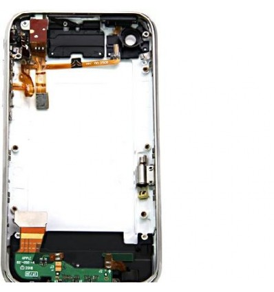 iPhone 3GS white back cover full assembly
