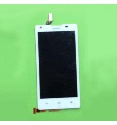 Huawei Ascend G700 Pantalla LCD original + Táctil blanco