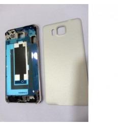 Samsung Galaxy Alpha SM-G850F carcasa completa blanco