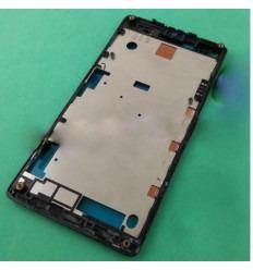 Sony Xperia L C2105 C2104 S36H carcasa frontal negro origina