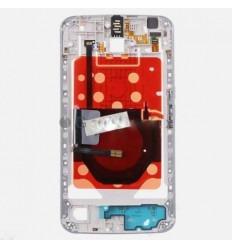 Motorola XT1100 XT1103 Google Nexus 6 carcasa central blanco