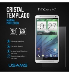 Htc M7 protector cristal templado