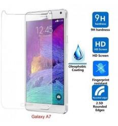 Samsung Galaxy A7 SM-A700 A7 SM-A700F protector cristal temp