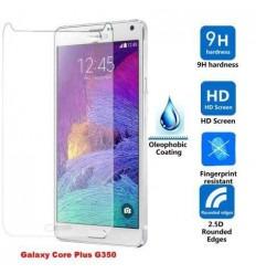 Samsung Galaxy Core Plus G350 G3500 G3502 protector cristal