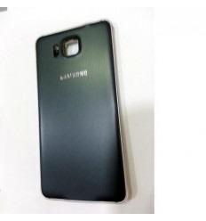 Samsung Galaxy Alpha SM-G850F carcasa completa negro