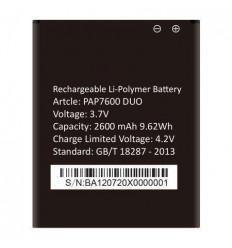 Batería original Prestigio PAP7600DUO (2600mAh)