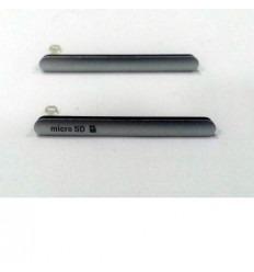 Sony Xperia Z3 Dual Sim D6633 set 2 tapas blanco original
