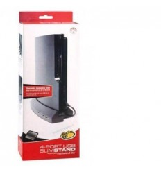 4 USB ports PS3 Slim stand