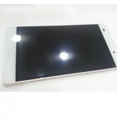 Huawei Ascend P8 Lite pantalla lcd + táctil blanco + marco o